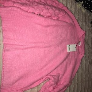 Pink Sweater- Pink Lily Boutique
